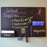 Mail Organizer Blackboard Giveaway!