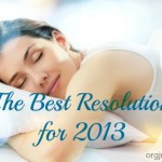The Best Resolution for 2013