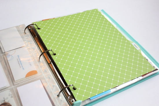 business card binder 1