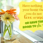 Two Organizing Quotes that Kind of Irk Me & Why