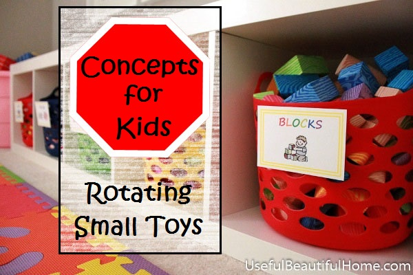 Concepts for Kids - rotating small toys