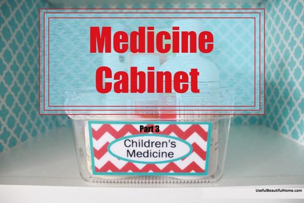 Children's medicine cabinet