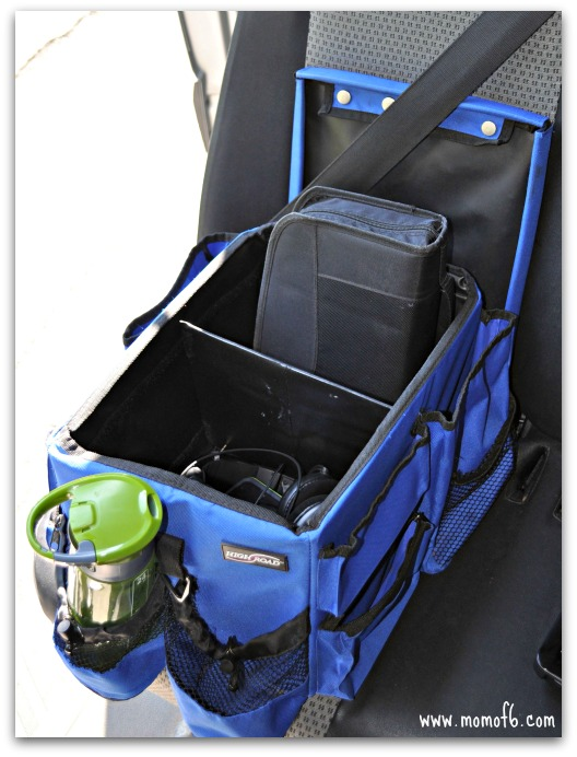 Inside-of-the-Car-Organization-blue-bin