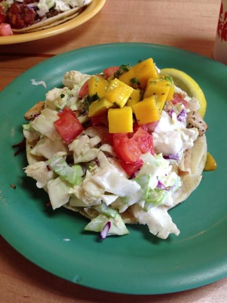 Maui Fish Tacos