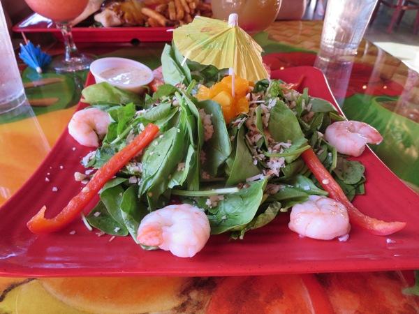 macadamian nut spinach salad