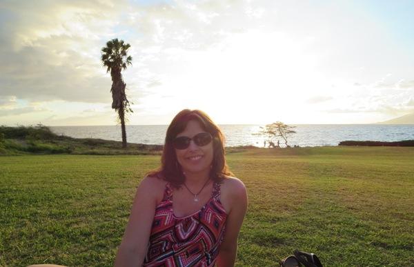 Maui sunset Laura