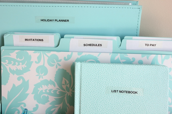 Holiday Organizing Tools 3