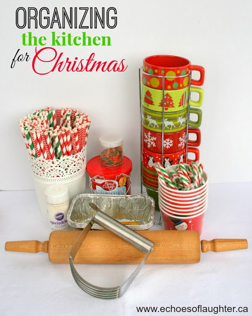Organizing The Kitchen For Christmas