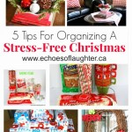 5 Tips To Simplify and Stress Less For Christmas