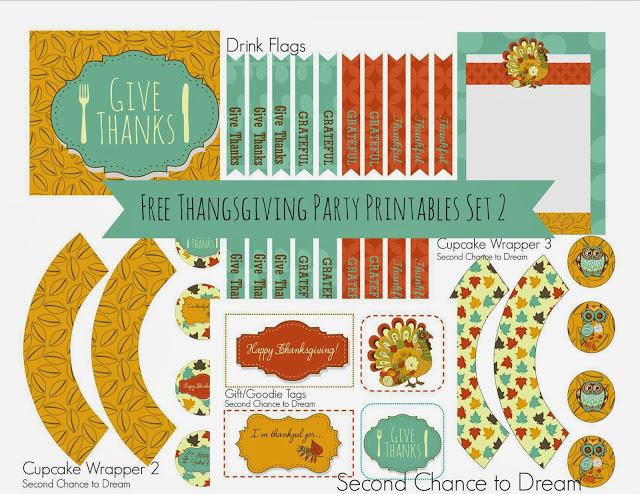 Thanksgiving printables 2