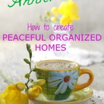 Creating Peaceful Organized Homes
