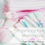 Organizing Painful Memorabilia