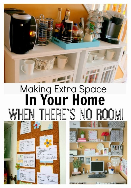 Making extra space in your home when there 39 s no room for Extra room in house