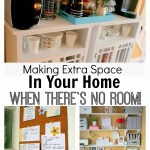 Making Extra Space in Your Home When There's No Room!