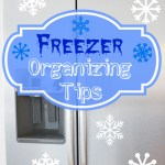 Upright Freezer Organization Tips
