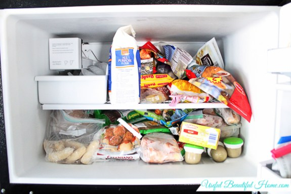 Organizing a Top Freezer