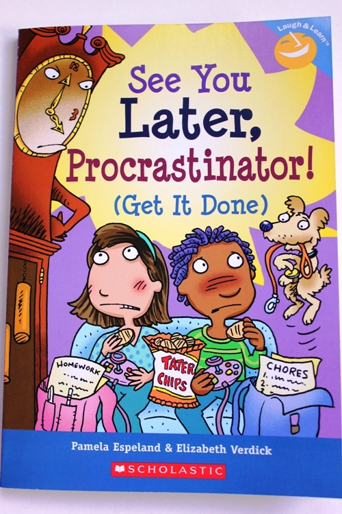 See You Later, Procrastinator ~ organizing books for kids at orgjunkie.com
