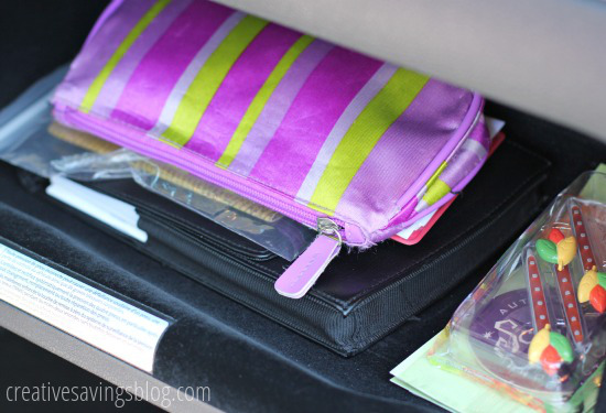 How to Organize Your Glove Box at I'm an Organizing Junkie blog