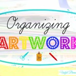Organizing Artwork + Free Printable!