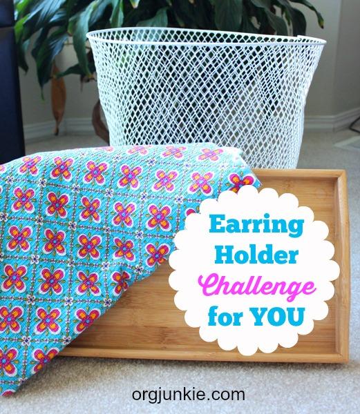 Earring Holder Challenge