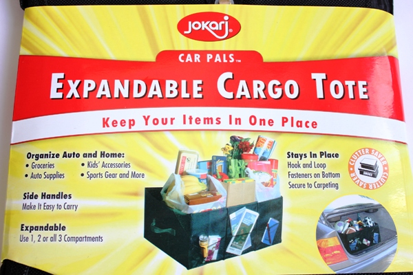 Expandable Cargo Tote