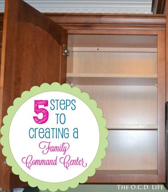 5 Steps to Creating a Family Command Center