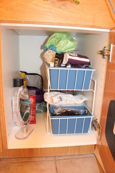 Bathroom Cupboard Before 1