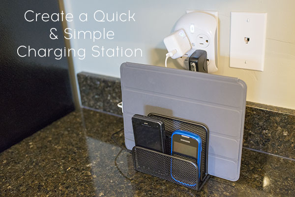 Create a quick and simple charging station