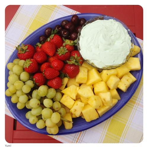 Margarita Fruit Dip