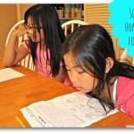 Summer Homework for Kids
