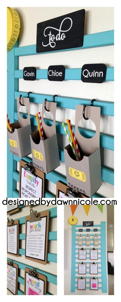 DIY Chore and Behavior System