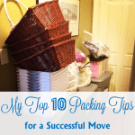 Kristin's Top 10 Packing Tips for a Successful Move + FREE printable