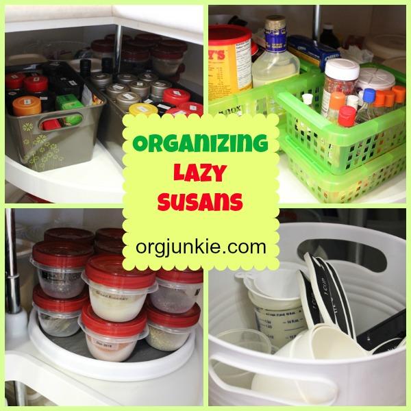 Charmant Top Organizing Bloggers Kitchen Tour: Organizing Lazy Susans