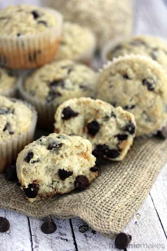 oatmeal chocolate chip muffins 6