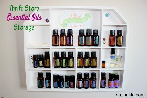 Essential Oils Storage 1