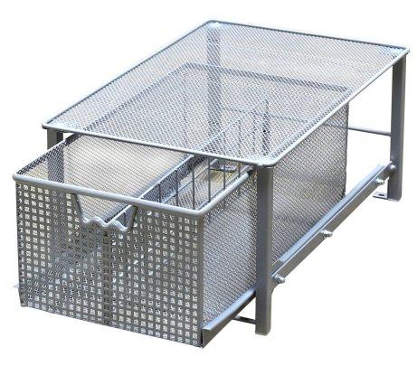 Mesh Cabinet Sliding Basket