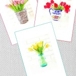 Free Watercolor Printables for Spring