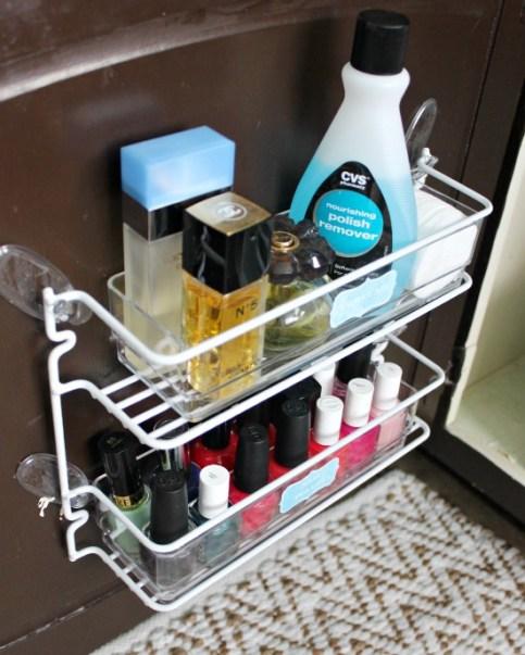 nail polish and perfume organization