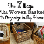 7 Ways I Use Woven Baskets to Organize in My Home