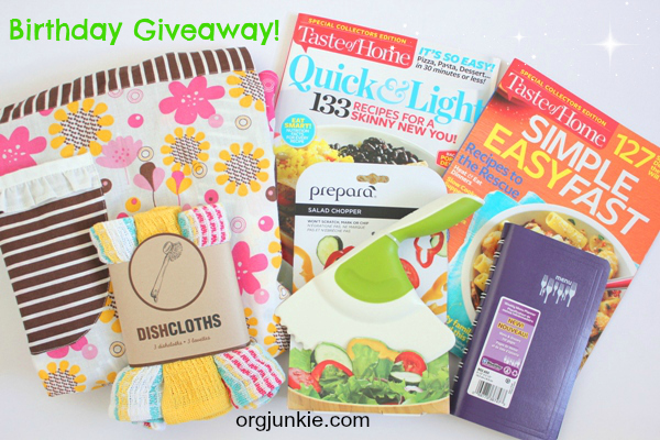 Giveaway grouping
