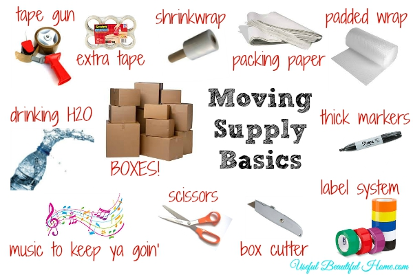 Moving Supply Basics