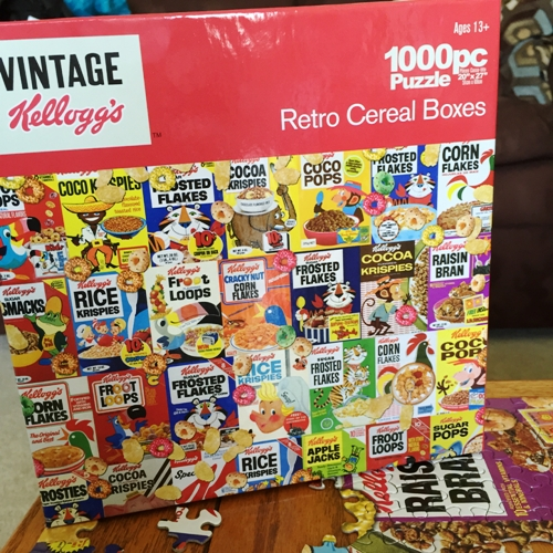 Cereal Boxes Puzzle