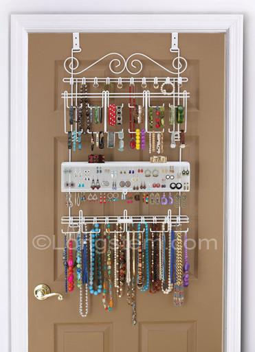 Longstem Jewelry Organizer - holds over 300 pieces of jewelry!!