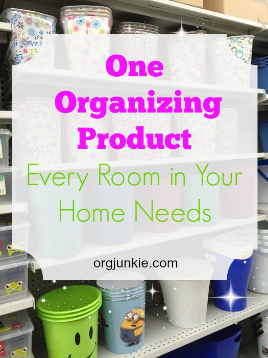 What Every Room Needs in Your Home at orgjunkie.com