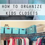 Friday Favs: Organized Kids Closets, Free Thanksgiving Printables + more!