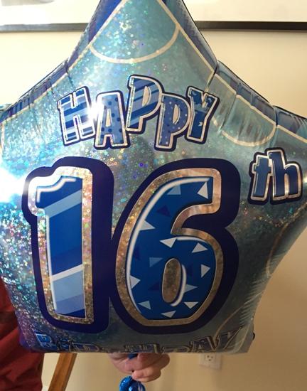 happy sixteen birthday