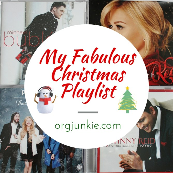 My Fabulous Christmas Playlist at I'm an Organizing Junkie blog