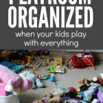 How to Keep a Playroom Organized When Your Kids Play with Everything