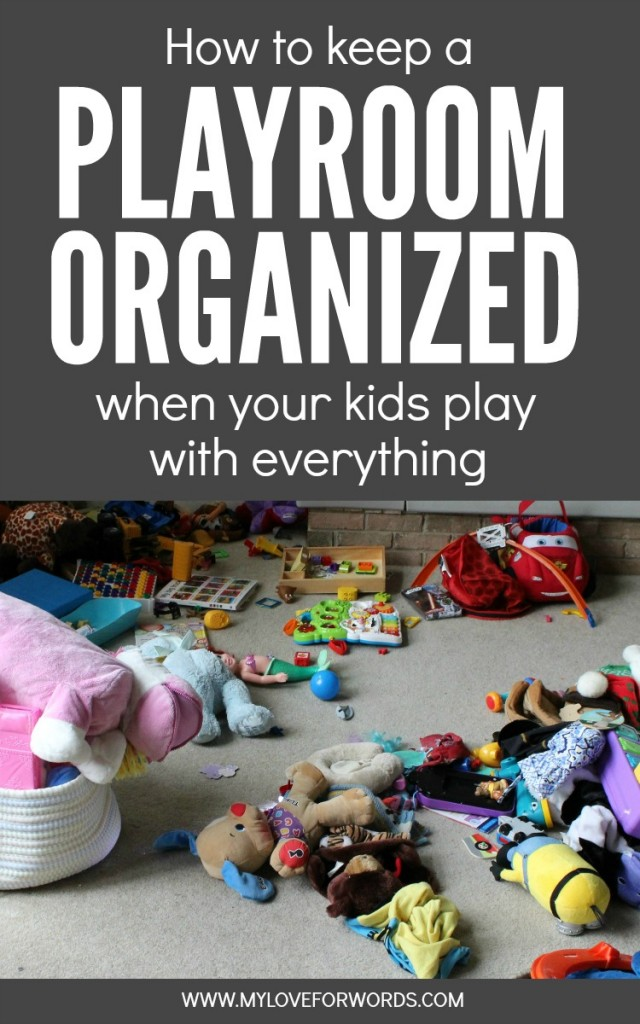 Is it possible to have an organized playroom? It is with these great tips at I'm an Organizing Junkie blog