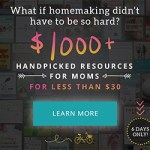 Fantastic homemaking resources to help the cluttered and overwhelmed